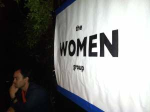 the WOMEN group poetry reading, Hollywood, CA -2012
